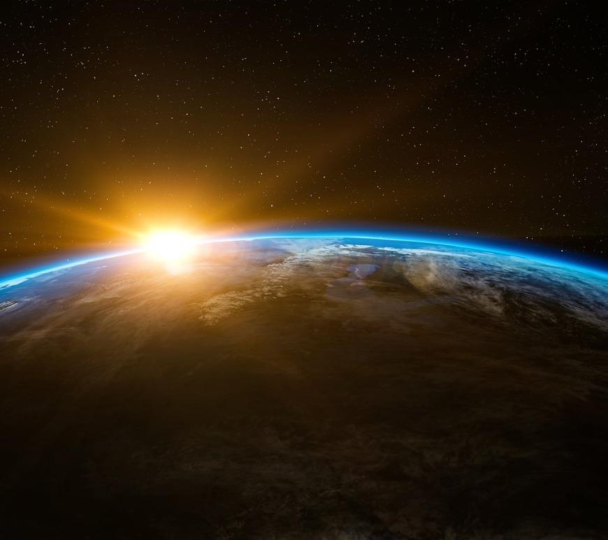Creation Jesus Created Beginning Sunrise Universe Earth